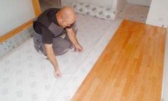 Установка ламината – как правильно укладывать ламинатные доски