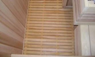 Устройство пола в бане: правильная организация строительного процесса