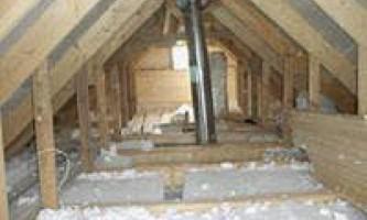 Утепление бетонного потолка – утепление потолка своими руками