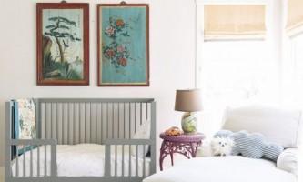 В ожидании малыша: яркие идеи дизайна комнаты для новорожденного