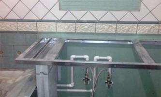 Влагостойкий гипсокартон: современный дизайн в ванной комнате - легко!