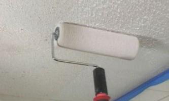 Возможные варианты выбора краски для потолка
