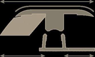 Выбираем лучший порожек между плиткой и ламинатом