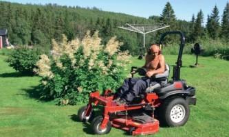 Выбираем садовый трактор (фото)