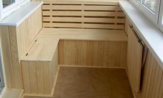 Выбирем отделочные материалы для внутренних стен балкона правильно