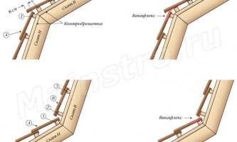 Кровли из натуральной и цементно-песчаной черепицы: Мансардный перелом черепичной кровли